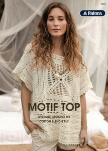 Patons Leaflet 0023 - Motif Top (Patterns Books & Leaflets)