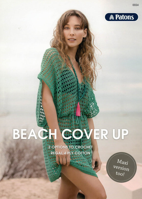 Patons Leaflet 0024 - Beach Cover Up (Patterns Books & Leaflets)