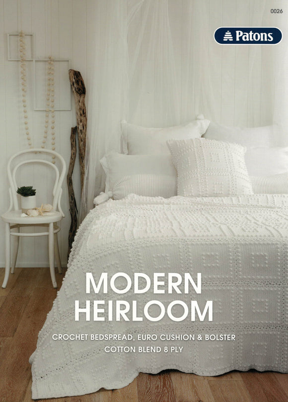 Patons Leaflet 0026 - Modern Heirloom (Patterns Books & Leaflets)