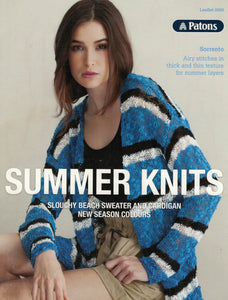 Patons Leaflet 0005 - Summer Knits (Patterns Books & Leaflets)