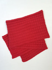 Scarf - Ribbed Basketweave (Pattern Downloads)
