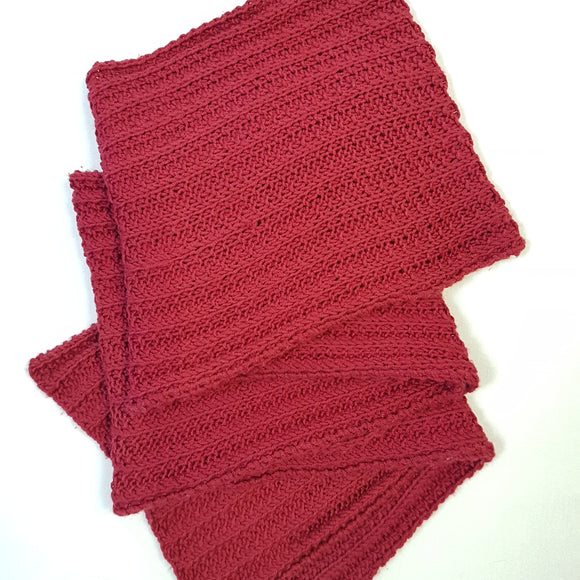 Scarf - Extreme Rib Style (Pattern Downloads)
