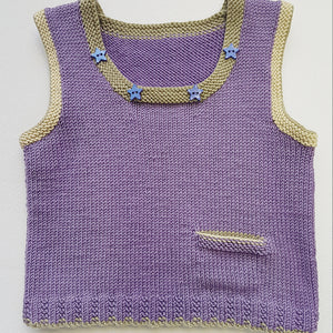 Children - Vest with Round Neck (Pattern Downloads)