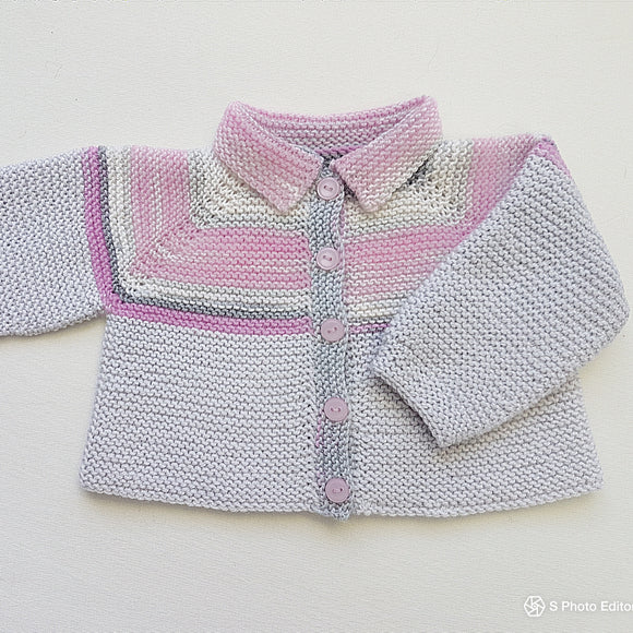Children - Top Down 4 Ply Jacket (Pattern Downloads)