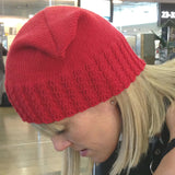 Beanie - Adult - Cabled Box Style (Pattern Downloads)