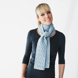 Scarf - Zig Zag Cable Style (Pattern Downloads)