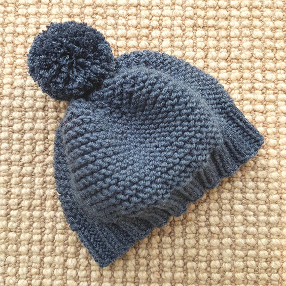 Beanie - Children - Garter Stitch Style (Pattern Downloads)
