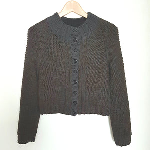 Women's Cardigan in Chunky Cropped Style (Pattern Downloads)
