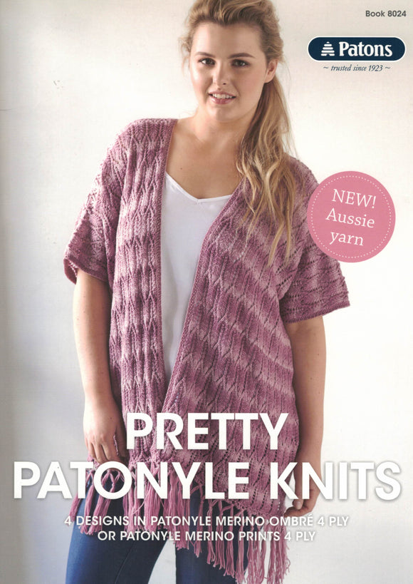 Accessories - Patons Book 8024 Pretty Patonyle Knits
