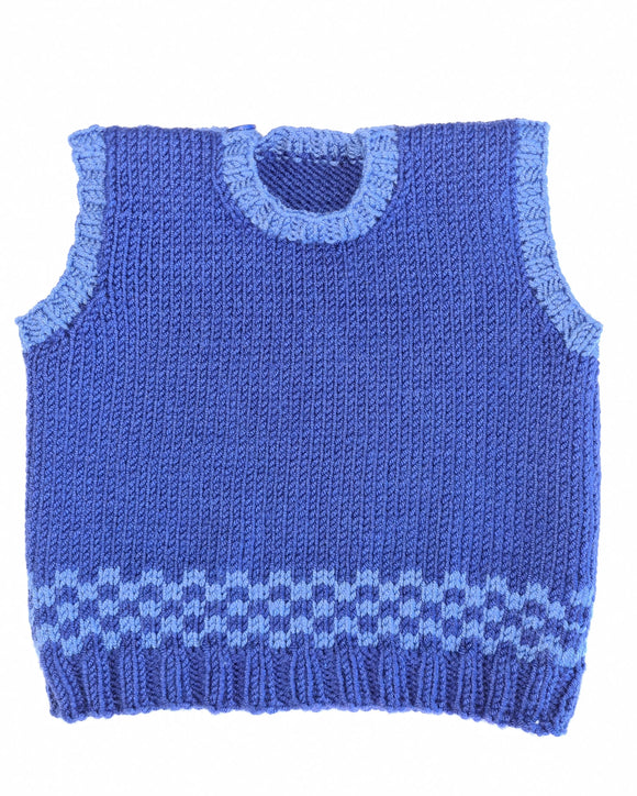 Children - Vest Adam (Pattern Downloads)
