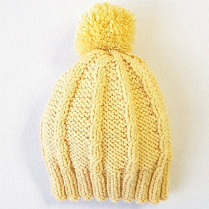 Beanie - Children - Simple Cable Beanie (Pattern Downloads)