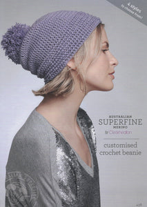 Cleckheaton Leaflet 438 - Customised Crochet Beanie (Accessories)