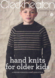 Children - Cleckheaton Book 3011 Hand knits for older kids
