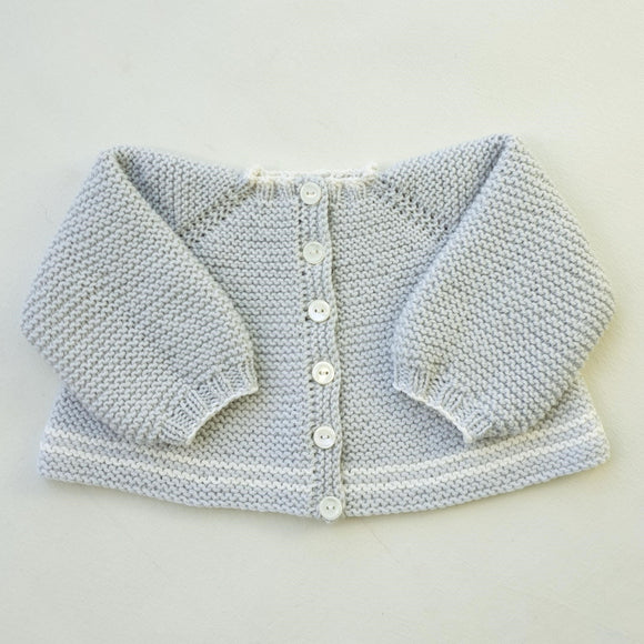 Children - Elodie Top Down 4 Ply Jacket (Pattern Downloads)