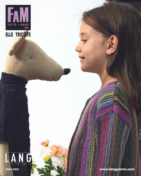 Children - Lang Yarns Fatto A Mano Book No. 254 Elle Tricote