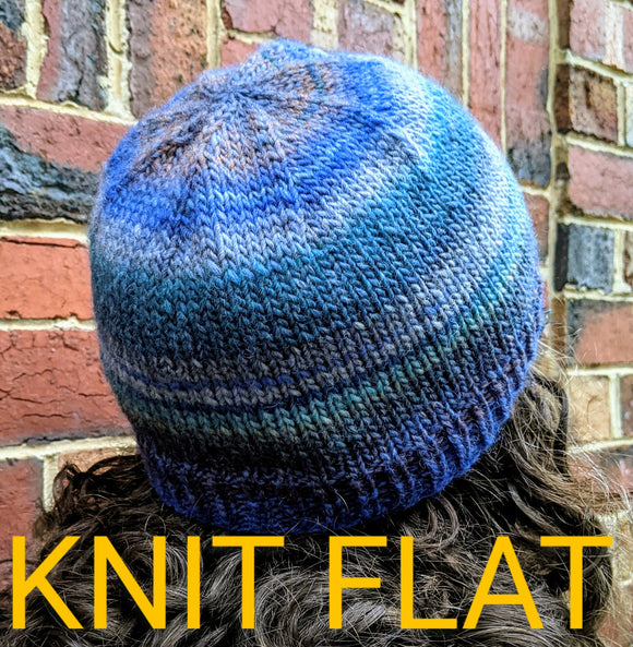 Family - KNIT FLAT 10ply Family Beanies