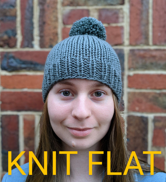 Family - KNIT FLAT 14ply Family Beanies