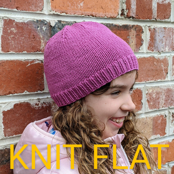 Family - KNIT FLAT 8ply Family Beanies