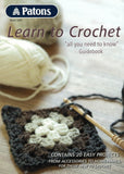 Technique - Patons Book 1257 Learn to Crochet