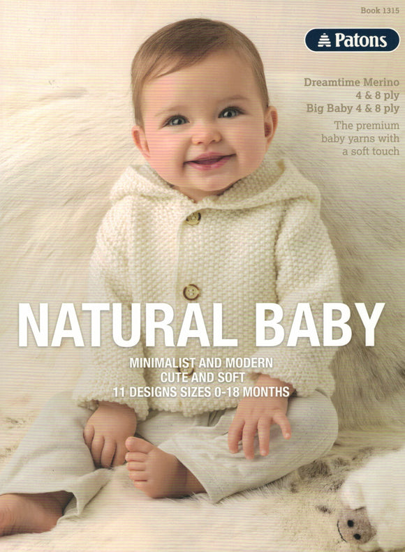 Baby - Patons Book 1315 Natural Baby