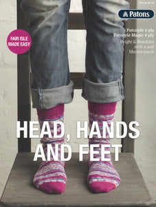 Patons Book 8018 - Head, Hands and Feet (Patterns Books & Leaflets)