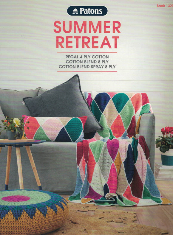 Patons Book 1321 - Summer Retreat (Patterns Books & Leaflets)