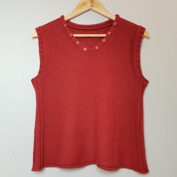 Women's V Neck Sleeveless Top (Pattern Downloads)