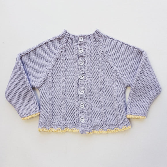 Children - Baby Cable Cardi (Pattern Downloads)