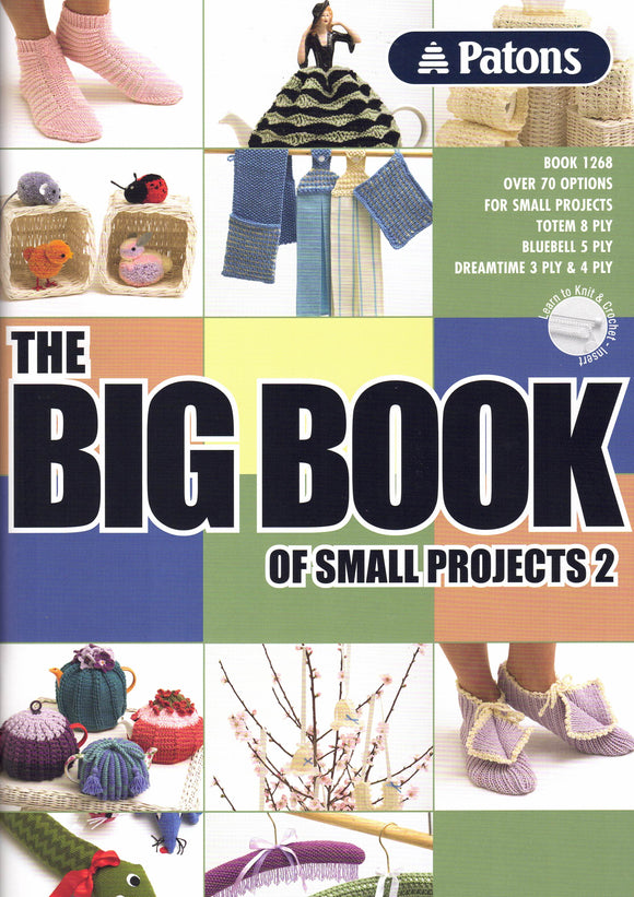 Accessories - Patons Book 1268 The Big Book of Small Projects 2
