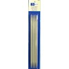 Double Pointed Needles 20cm Birch Steel  (Knitting Needles)