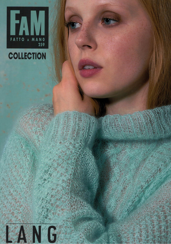 Women/Men - Lang Yarns Fatto A Mano Book No. 259 Collection