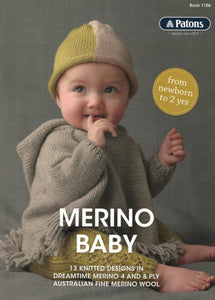 Patons Book 1106 - Merino Baby (Patterns Books & Leaflets)