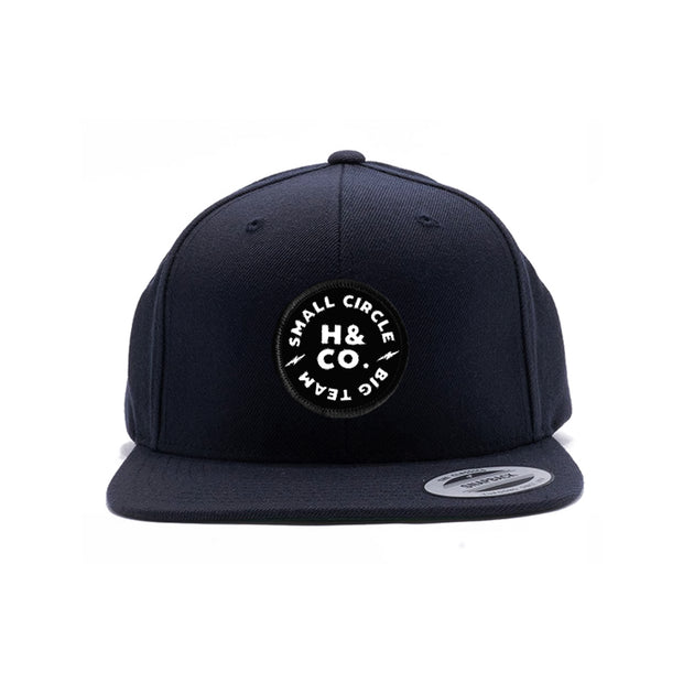 Small Circle Big Team Snapback - Navy