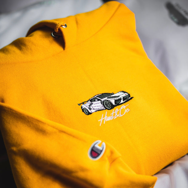 C8 Champion Sweatshirt - Gold