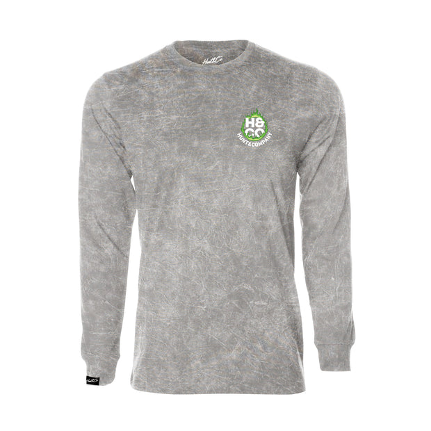 Cold Starts Warm Hearts Longsleeve - Gray Mineral Wash