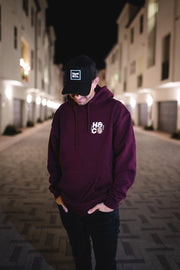Stack Chips Buy Whips Sweatshirt - Maroon