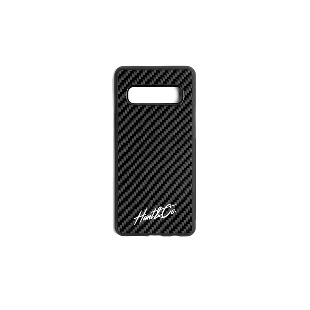 Slant Logo Phone Case v2 || Simply Carbon Fiber x Hunt and Co collaboration