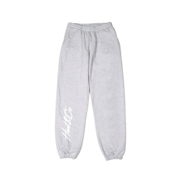 Slant Logo Sweatpants - Gray
