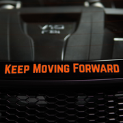Keep Moving Forward Decal