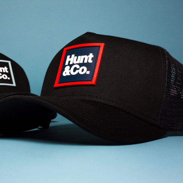 H&C Trucker Hat - Red/Navy