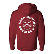 Keep Moving Forward Sweatshirt - Burgundy