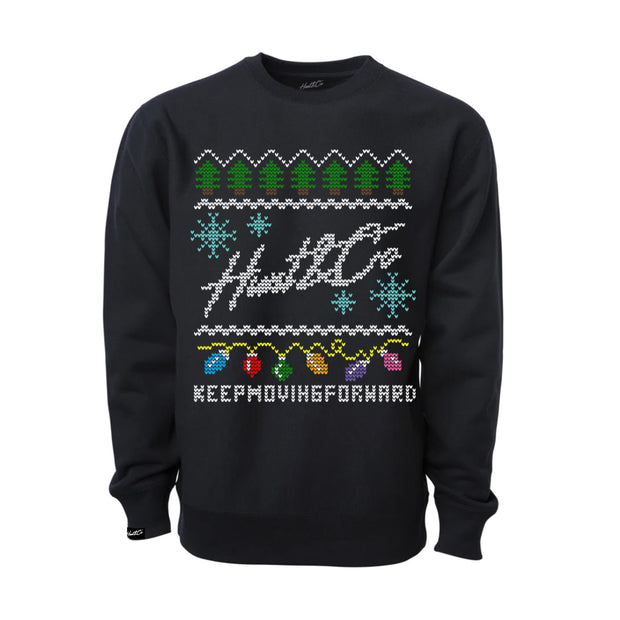 Ugly Christmas Sweater - Black