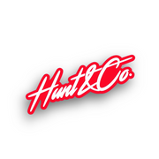 Hunt and Co Slant Logo Sticker