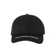 Keep Moving Forward Dad Hat - Black