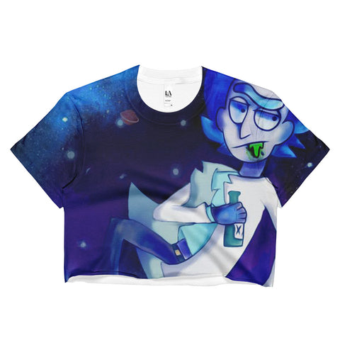 Space Rick Crop Top