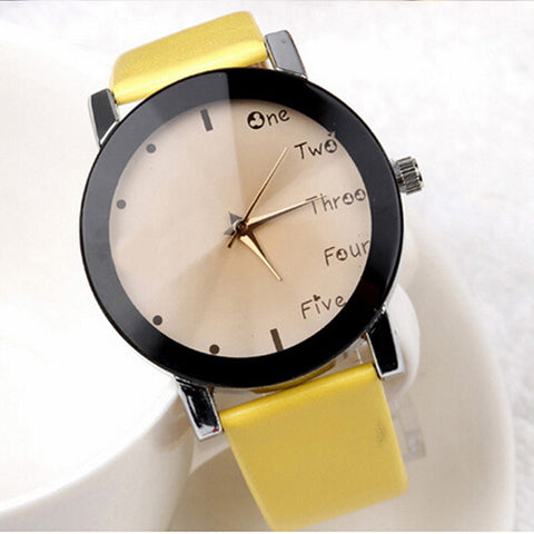 Summer Fabric Strap Watch Simple Style Men Casual Watch