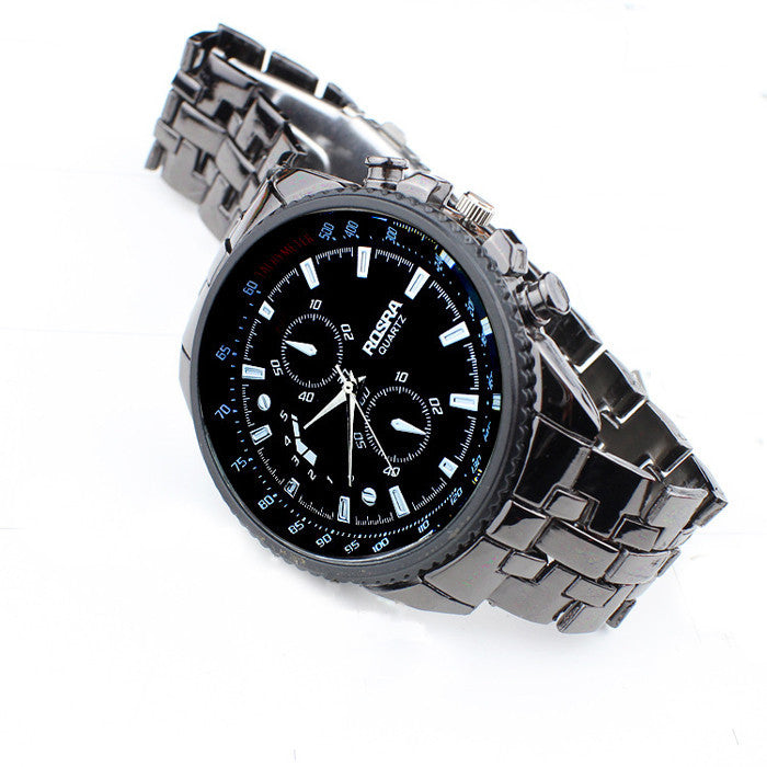BestTime Full Stainless Military Casual Men's Watch