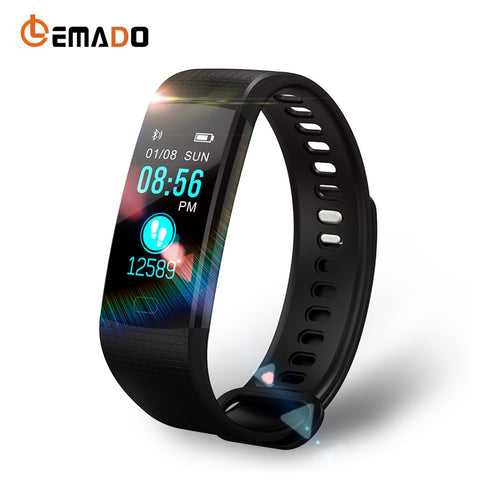 Lemado Y5 Smart Wristband Heart Rate Blood Pressure Watch Fitness Tracker Smart Bracelet Pedometer Activity Band PK Mi Band 2 3