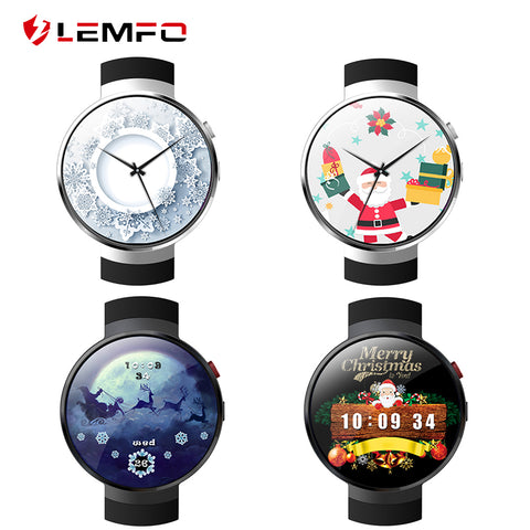 LEMFO LEM7 Smart Watch Android 7.1 4G Smartwatch MT6737 1GB/ 16GB support SIM GPS WIFI Smart Watch Wearable Devices for Android