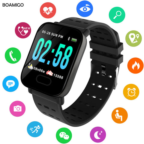 Best Time Bluetooth Smart Bracelet  Smart Band Step Activity Monitor Smart Watch For Sport